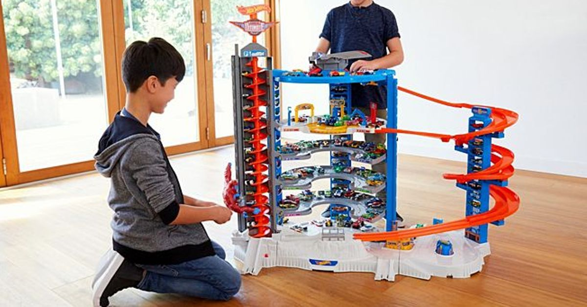 Enter To Win A Hot Wheels Super Ultimate Garage Playset P Red
