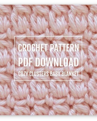 This Free Crochet Baby Blanket Pattern Is A Fun And Quick Project
