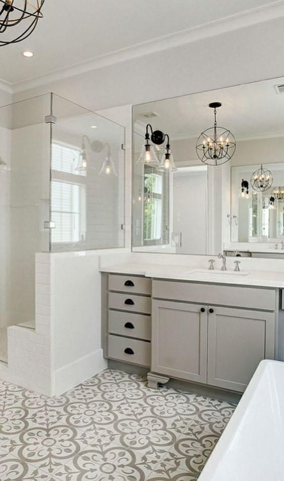 48 Fabulous Rustic Bathroom Shelves Storage Ideas