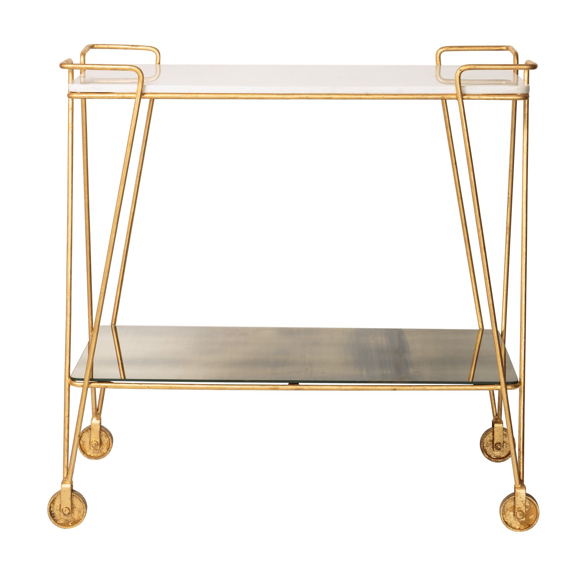 Buy Luxe Drinks Trolley from Oliver Bonas | Home | Pinterest ...
