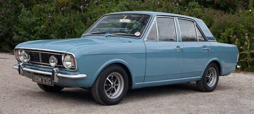 1968 Ford Cortina Mk2 1600e Sold On Car And Classic Uk C605222