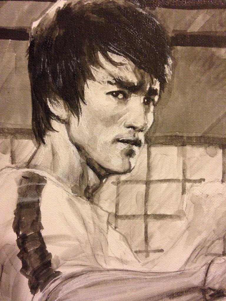 Bruce Lee by Leinil Yu *   Artistas, Bruce lee, Artes marciales