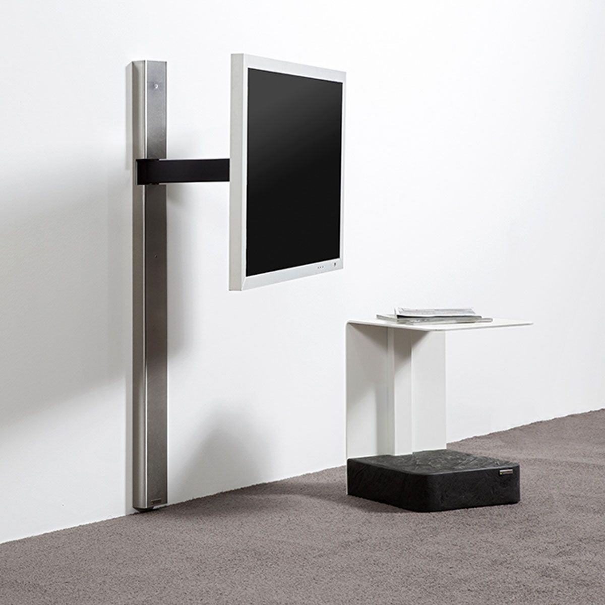 wissmann raumobjekte solution art 128 tv wandhalter bei hifi tv living room ideas. Black Bedroom Furniture Sets. Home Design Ideas