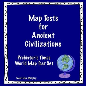 World Map Ancient Civilizations.World Map Test Set For Ancient Civilizations Civilization