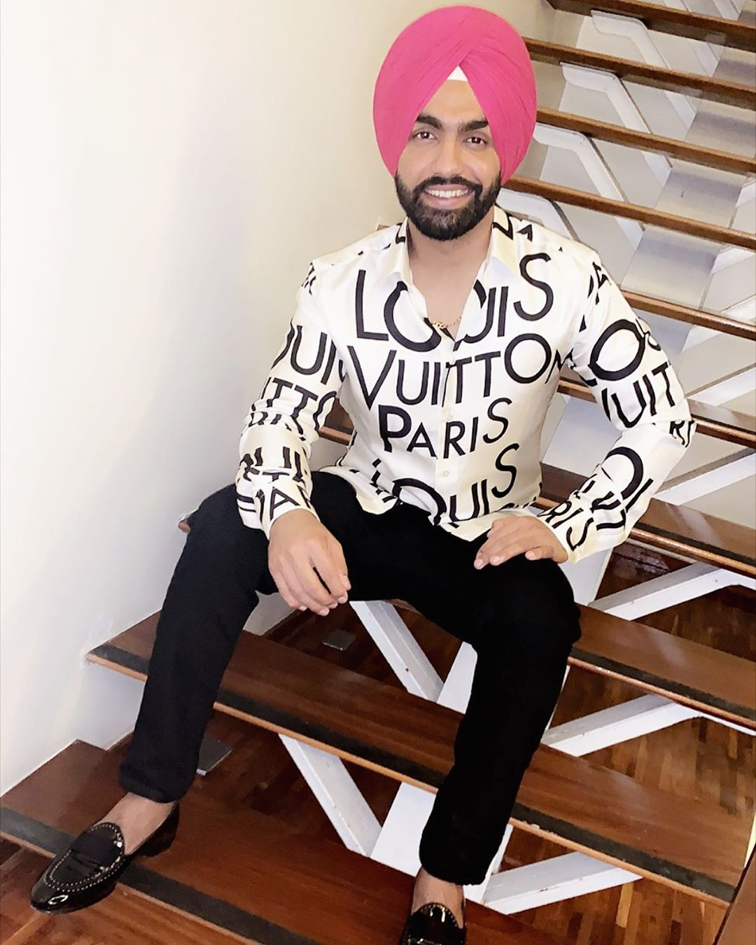 Image May Contain 2 People Shoes And Indoor Ammy Virk Mens Fashion Actors
