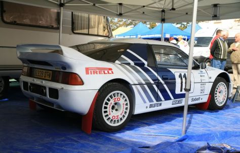 Ford Rs200s Group S Prototype Coches