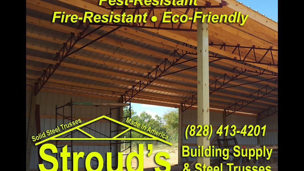STEEL TRUSSES , Pole Barns, and Carports BEST PRICES
