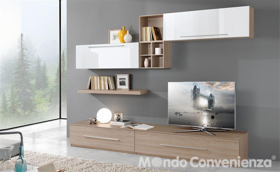 soggiorno gemini - mondo convenienza | idee casa | pinterest ... - Mobili Buffet Mondo Convenienza
