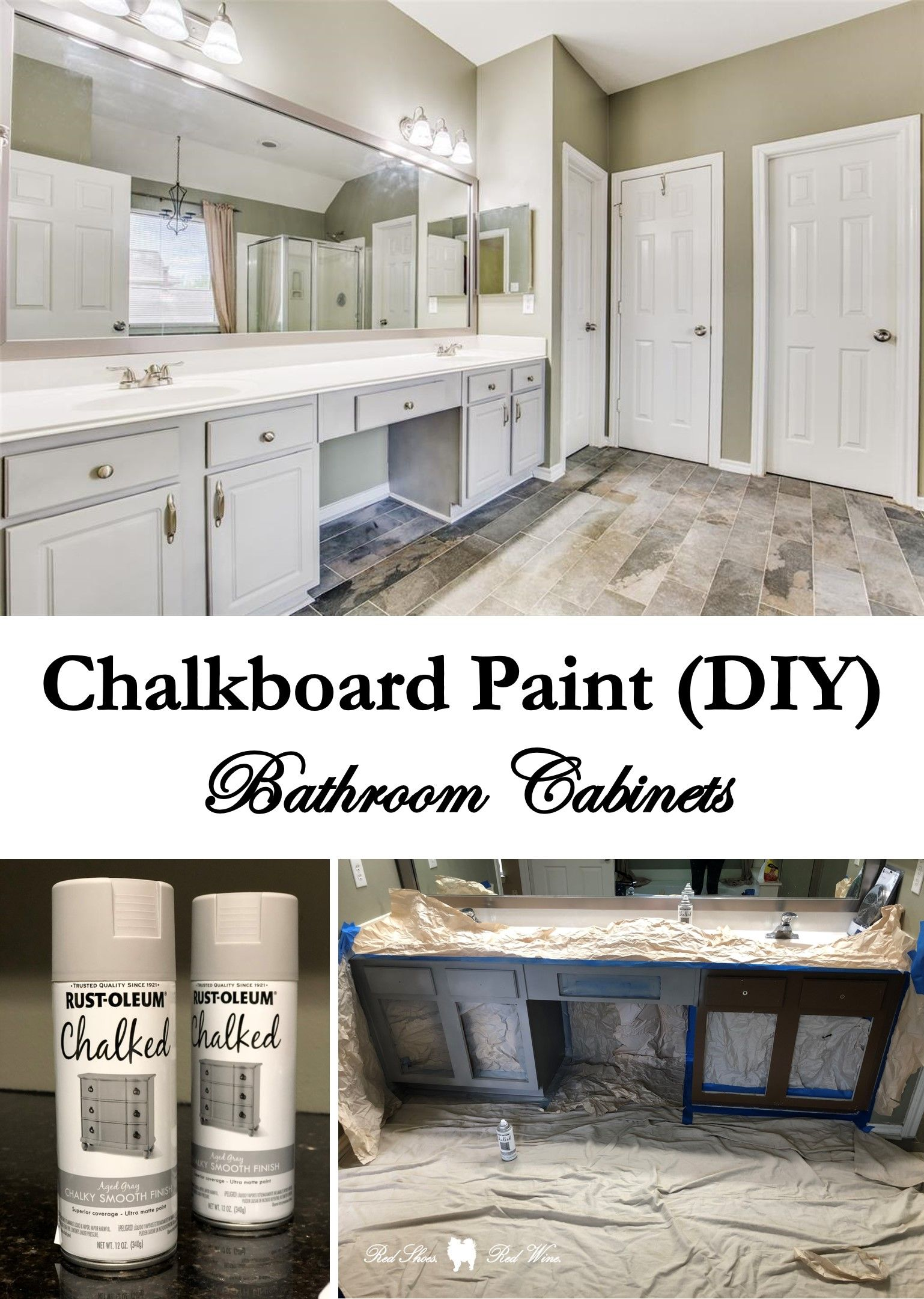 You Spray Painted What? A Chalkboard Paint (DIY) | Spray ...