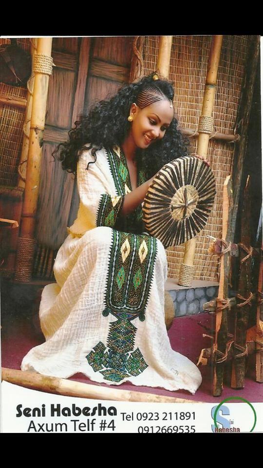 Ethiopian Tradition Ethiopian Dress Ethiopian Clothing