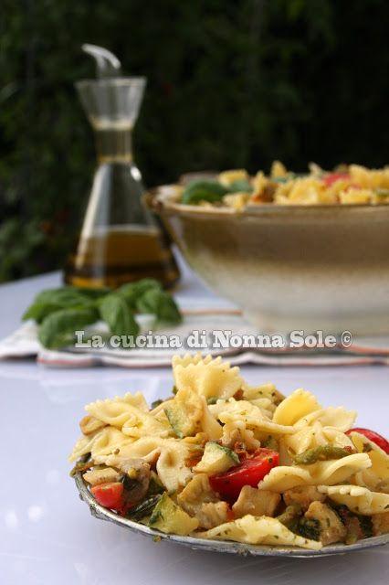 La cucina di Nonna Sole: Insalata di pasta con verdure