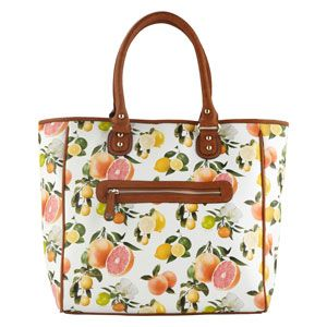 f9a07646c49 Daily steal  Fruit-printed tote