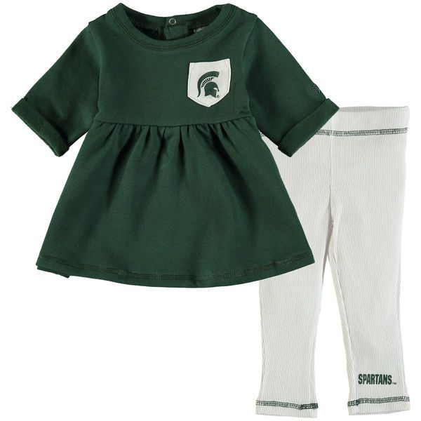 3396f0211 Michigan State Spartans Colosseum Girls Infant Pinchers of Peril ...