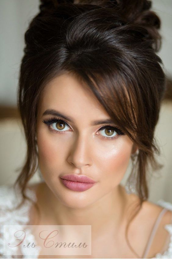 Amazing Up Do And Natural Make Up Style Bridal Hair Updo