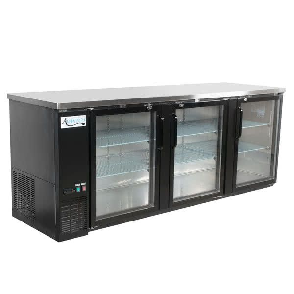 "Avantco UBB-4G-HC 90"" Black Counter Height Glass in 2020 ..."