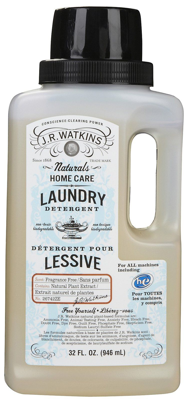 Liquid Laundry Detergent Fragrance Free Fragrance Free Products