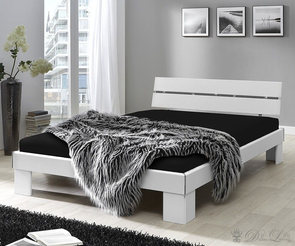 Bett weiß holz 140x200  Best 20+ Bett 140x200 günstig ideas on Pinterest | Bettwäsche ...