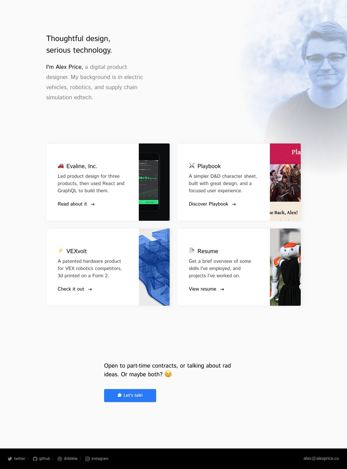 Bestfolios Alex Price Portfolio Inspiration Digital Design Character Sheet