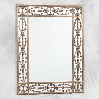 Large Mirror In Stylish Gold Frame 153 x 117 cm | le vent ...