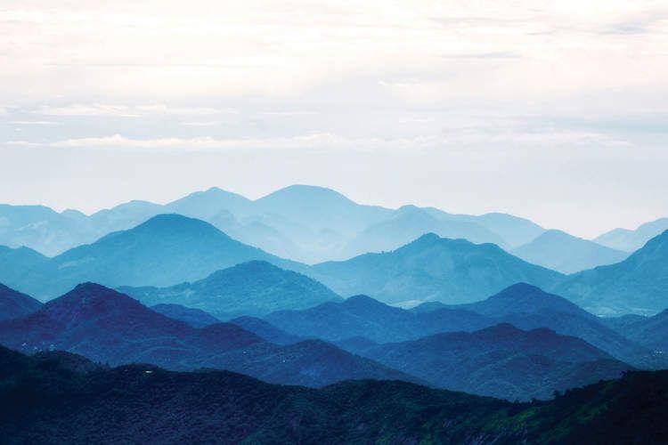 Blue Mountains - Canvas Print