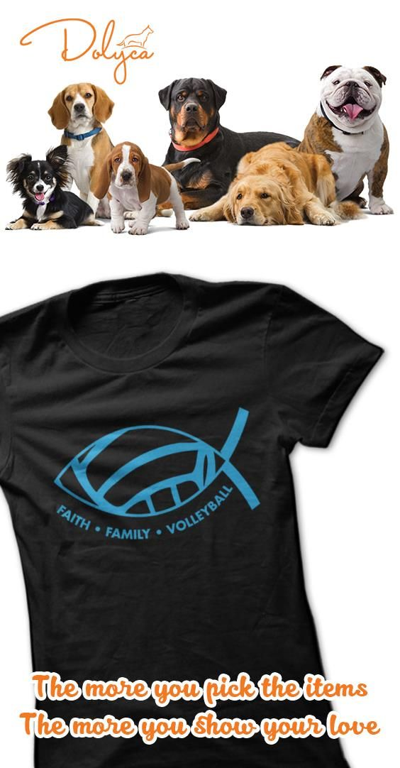 Faith.Family.Volleyball by Play4Jesus. Show the world who you dig,serve and spike for!!! Variety of colors in ladies and hoodies!!! Like us on Facebook at Play4Jesus