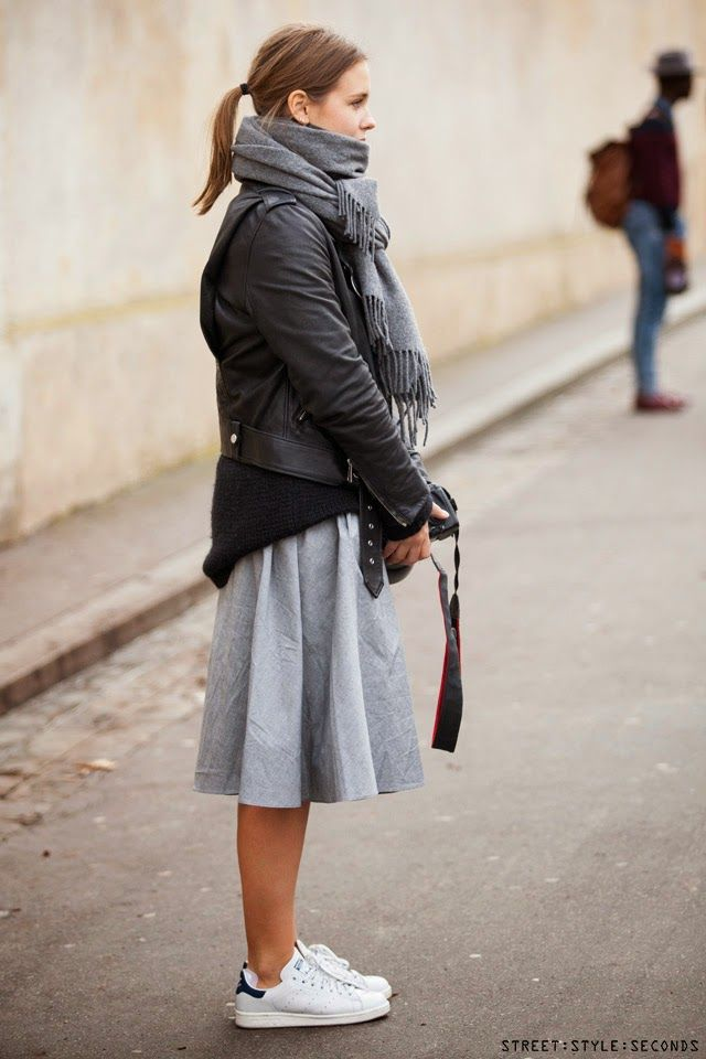 Paris street style during Paris Fashion
