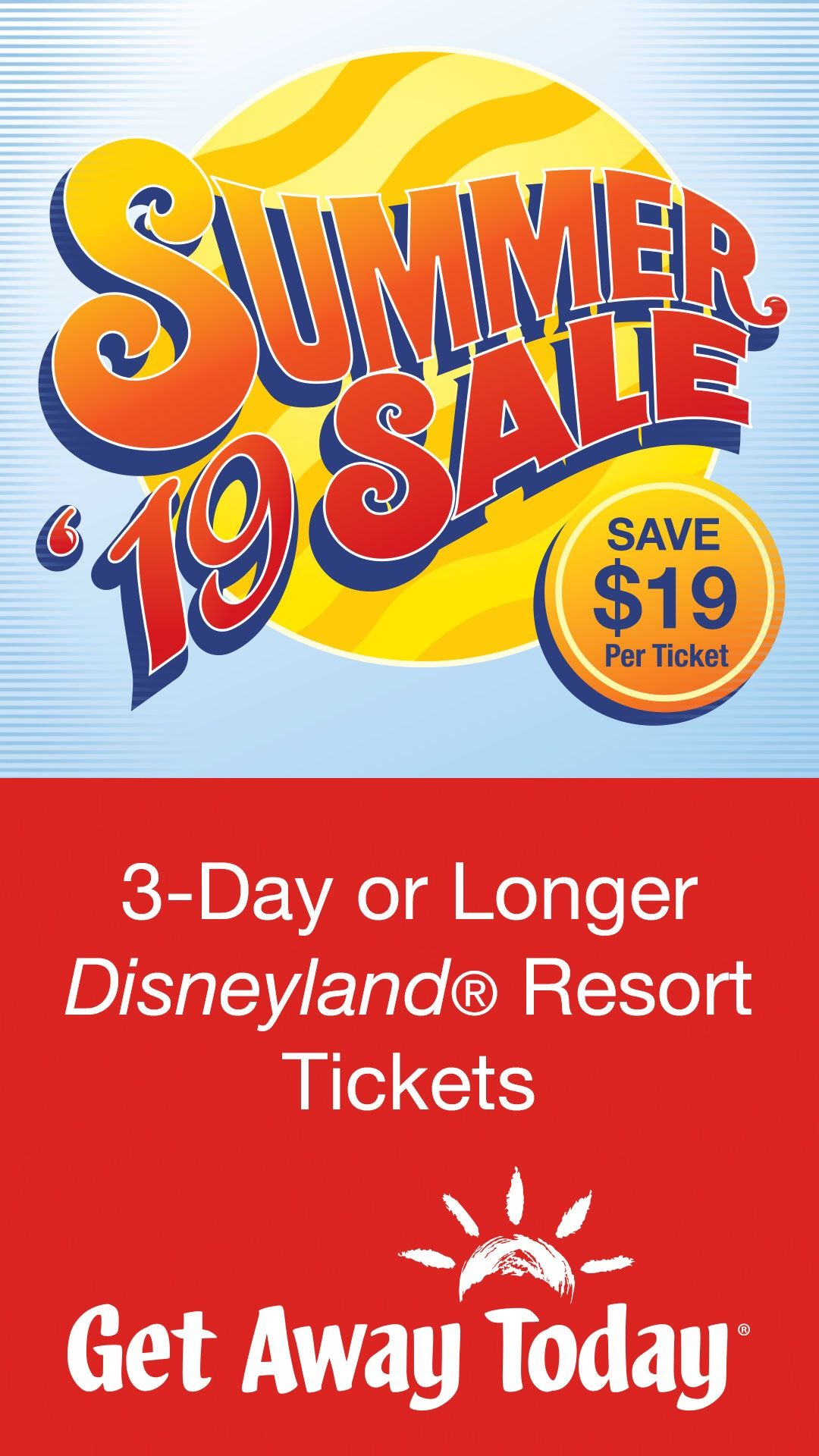 Get Away Today is the 1 place for Disneyland vacation