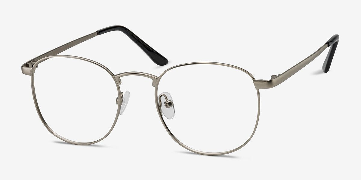3c229a418ddd St Michel Silver Metal Eyeglasses from EyeBuyDirect. Exceptional style,  quality, and price with these glasses. This frame is a great addition to  any ...