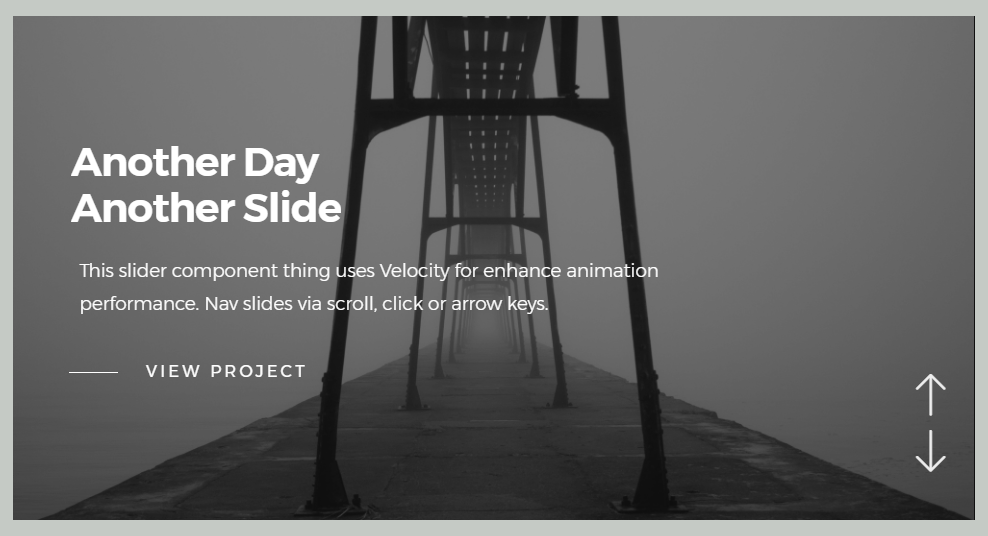 Beautiful slider code example made with Javascript, HTML and