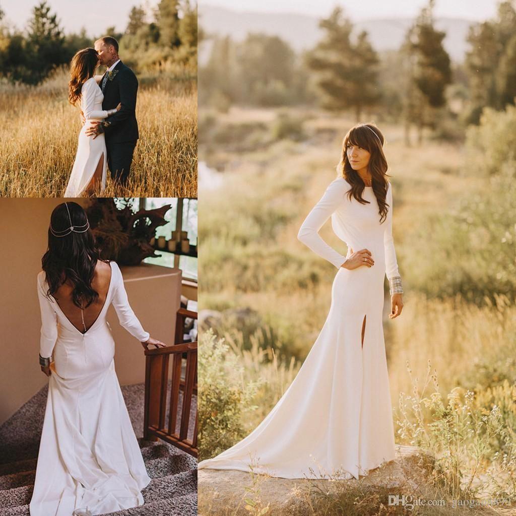 Celtic Autumn Boho Long Sleeve Wedding Dress Wedding Dress Long Sleeve December Wedding Dresses Online Wedding Dress,Beach Wedding Dress Ideas Plus Size