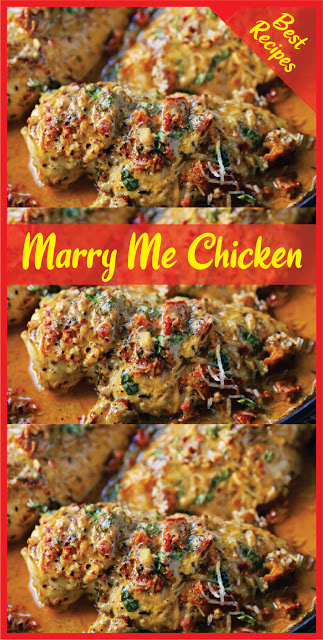 Marry Me Chicken | Daily Recipes #chicken #chickenrecipe #chickendainner #easyrecipe #easyfoodrecipes #simplerecipes #healthyfood #healthyrecipe #goodfood #marrymechicken