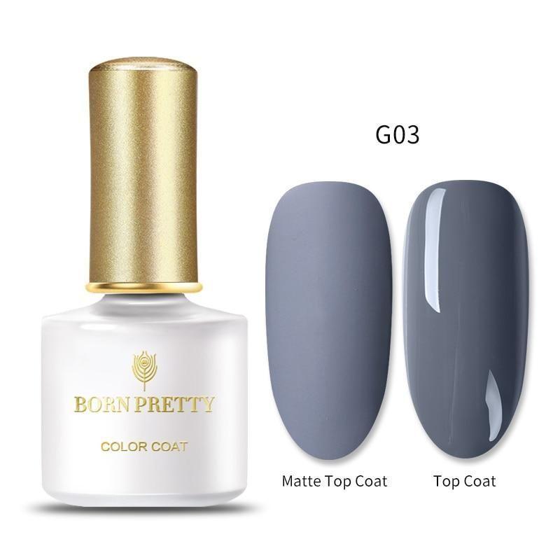 60 Colors Matte Uv Gel Nail Polish 6ml Pure Nail Color Top Coat Soak Off Art Gel In 2020 Uv Gel Nails Gel Nail Polish Uv Gel Nail Polish