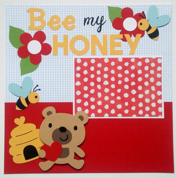 Scrapbook page for kids  Kids scrapbook  Baby by ohioscrapper