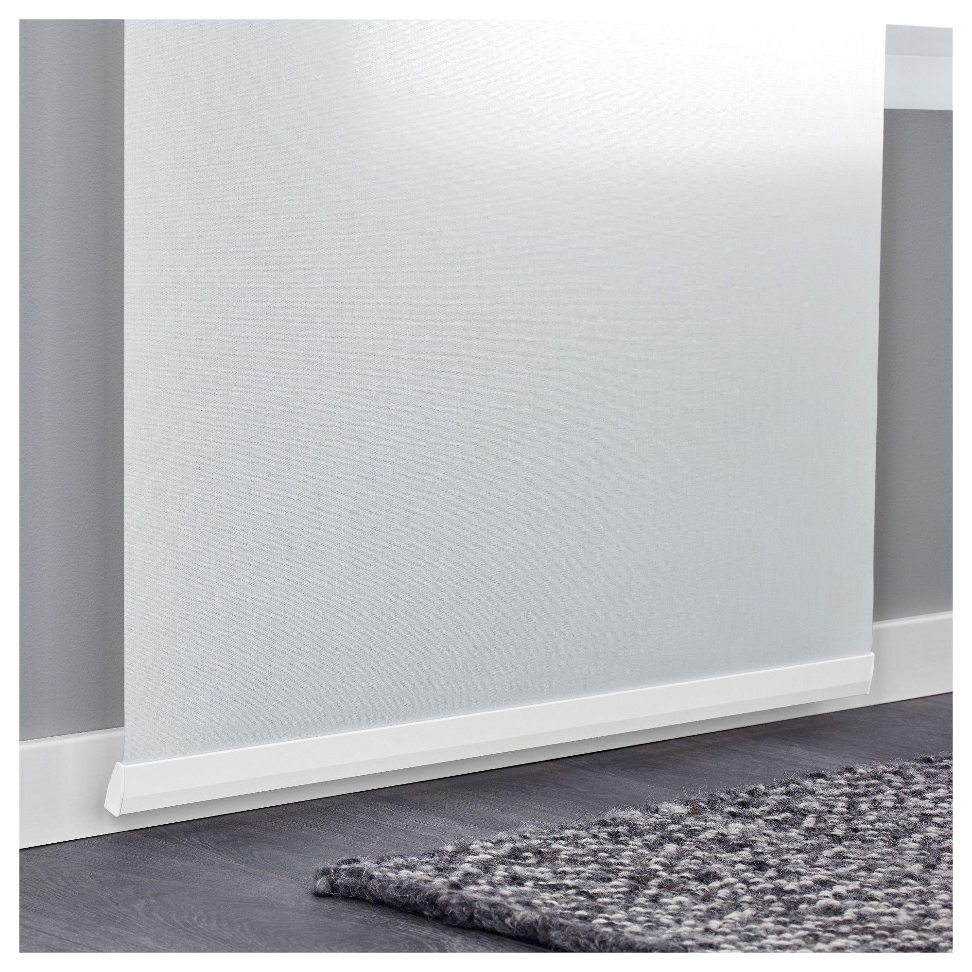 Ikea Vidga Panel Curtain Holder White Products