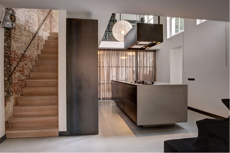 Artistiek radiator keuken cmk joinery