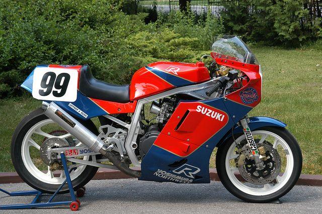 Ex-Goodfellow 1986 Suzuki GSXR-R Racer For Sale by loudbike