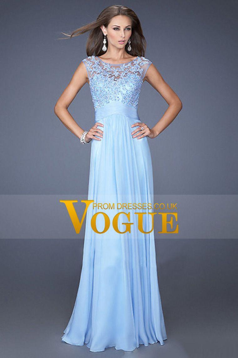 2015 Big Clearance Sale Bateau Neckline Prom Dress A-Line ...