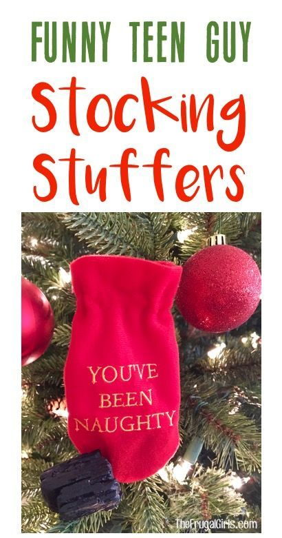 Funny Stocking Stuffers for Teens! HUGE list of fun gifts your ...