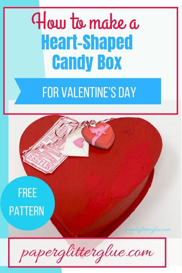 Easy Diy Heart Shaped Candy Boxes Craft Ideas Diy And Tutorials