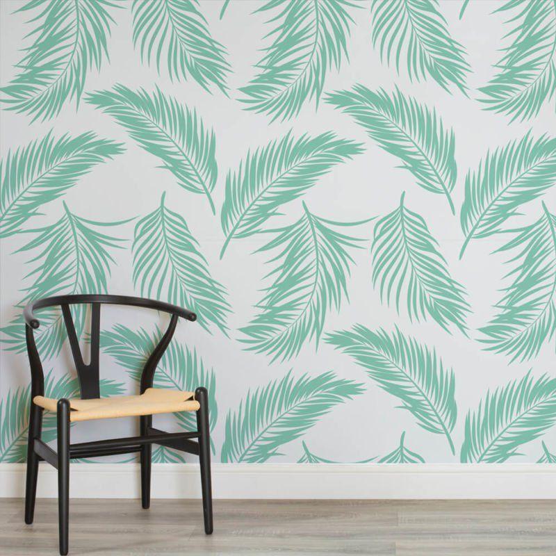 green-fern-leaf-design-square-2-wall-murals