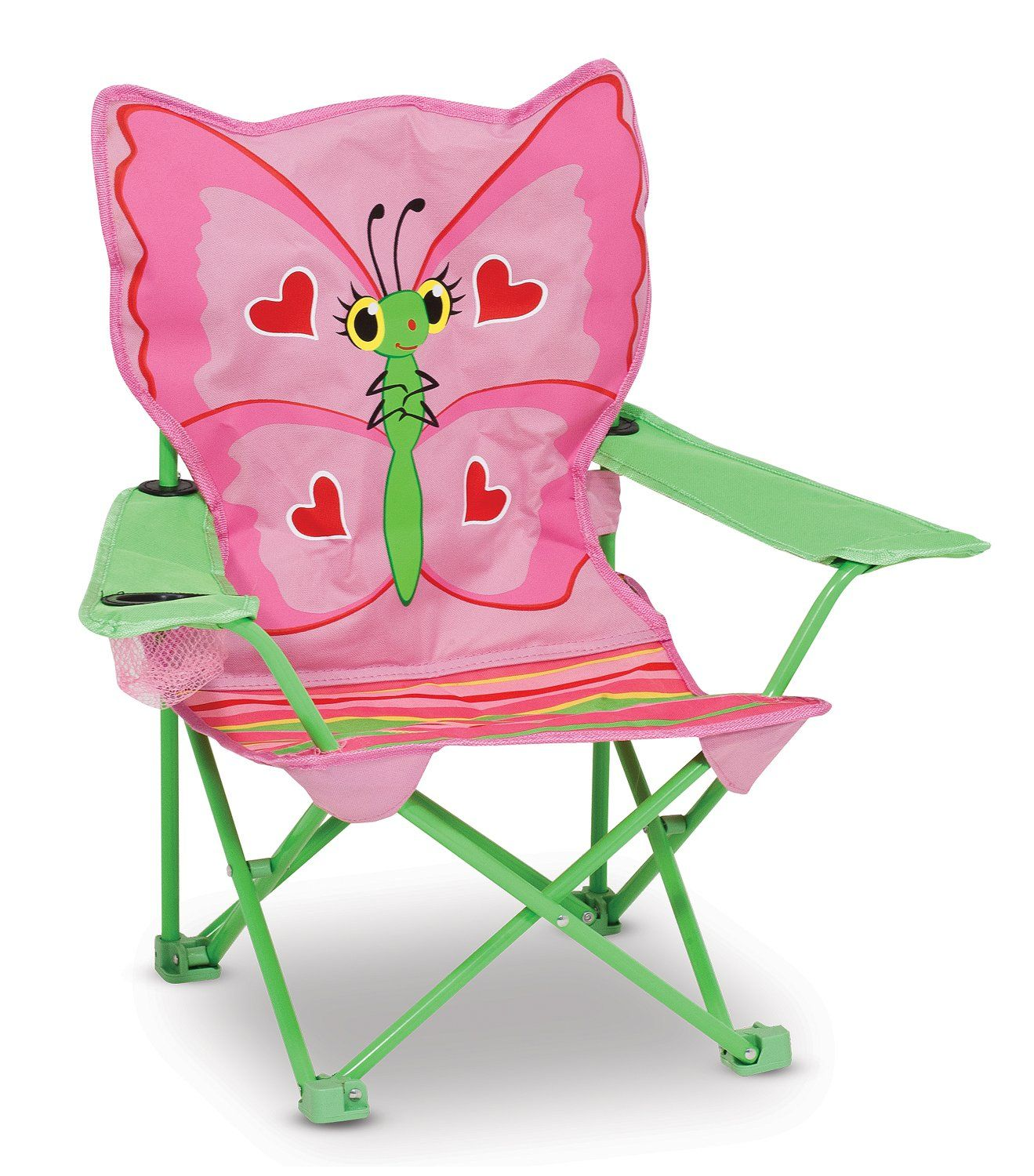 Melissa & Doug Sunny Patch Bella Butterfly Outdoor Folding