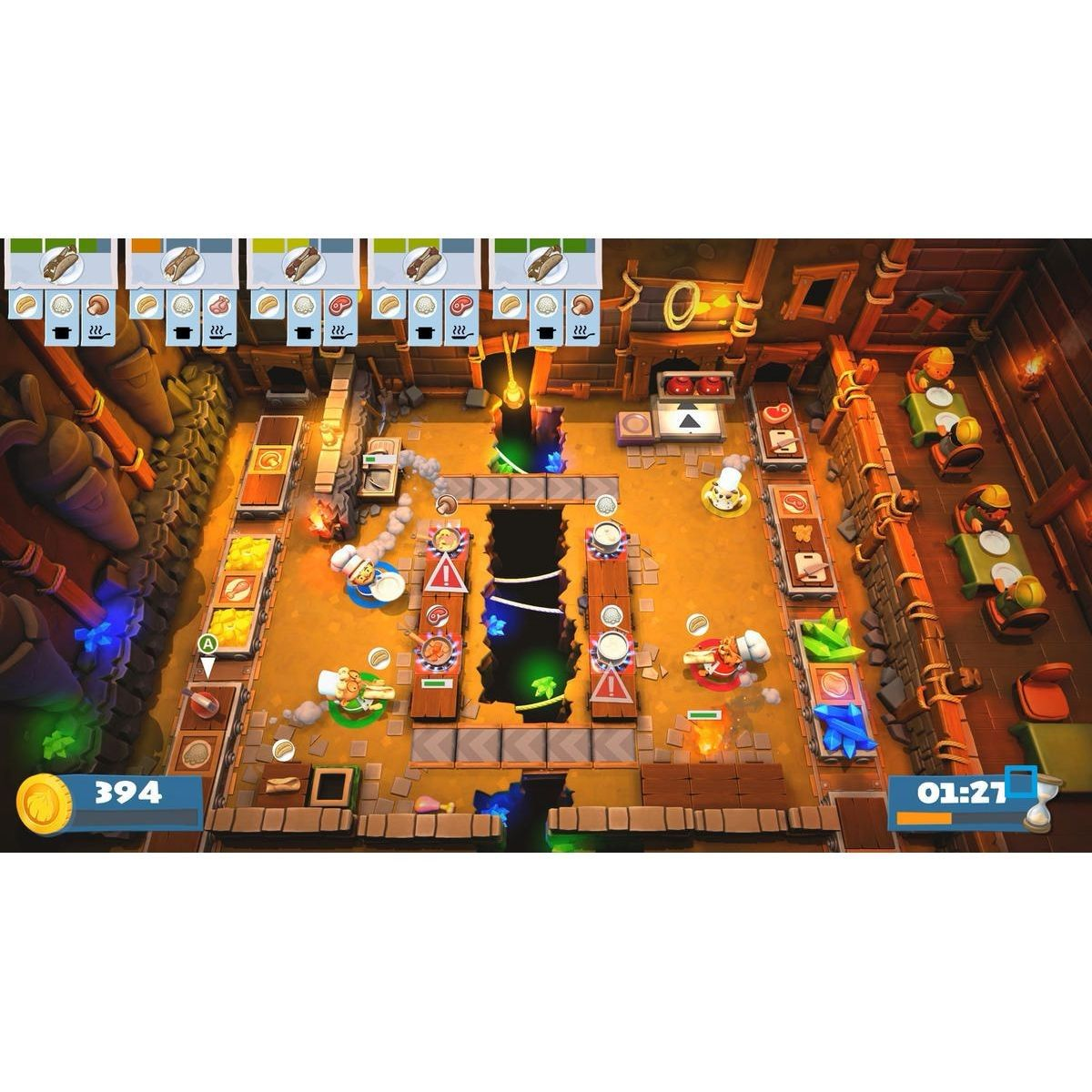 Overcooked 2 Xbox One Taille Taille Unique Products