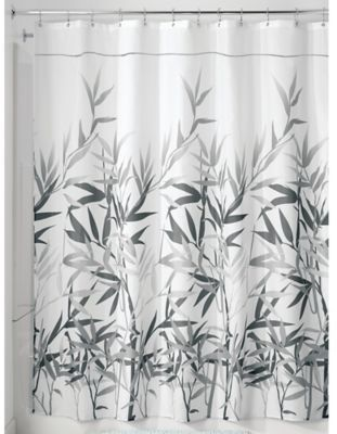 InterDesign Anzu 54 Inch X 78 Shower Curtain In Grey