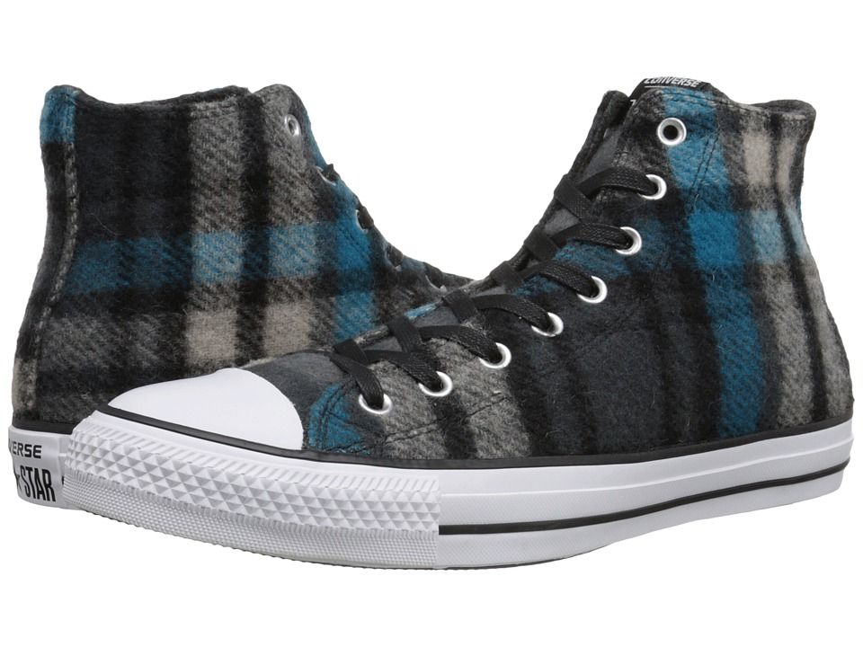 880b7dc28db CONVERSE CONVERSE - CHUCK TAYLOR(R) ALL STAR(R) WOOLRICH HI (BLACK PAPYRUS CYAN  SPACE) CLASSIC SHOES.  converse  shoes