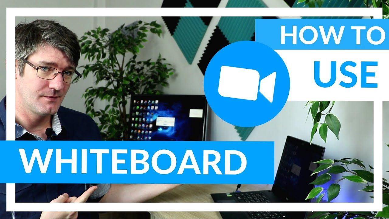 How to use the whiteboard in zoom youtube in 2020