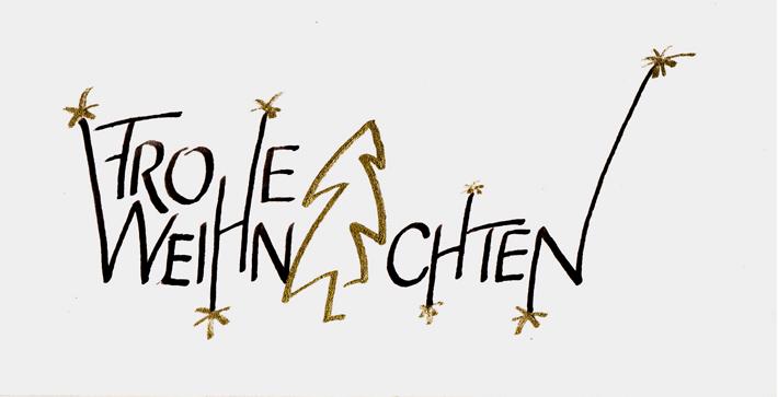 Frohe Weihnachten Schrift.Pin Auf Kalligrafikus Iras