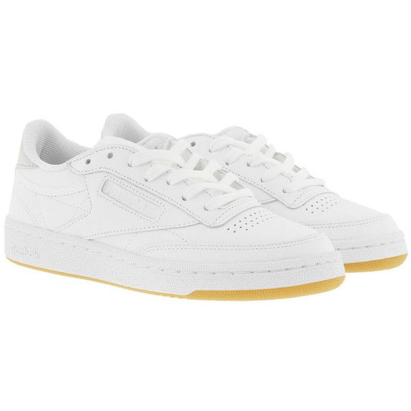 f685ac7630f83 Reebok Sneakers - Club C 85 Sneaker Diamond White Gum - in white -... ( 97)  ❤ liked on Polyvore featuring shoes