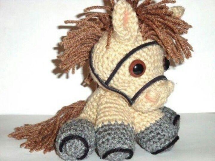 Amigurumis Caballitos A Crochet : Caballito tejido things that my mom loves crochet