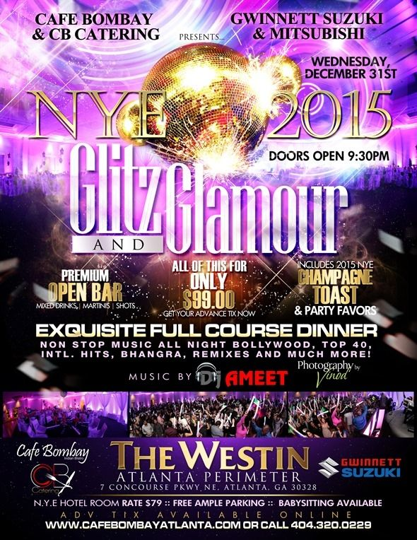 New Years Indian Eve 2015 Glitz And Glamour in The Westin