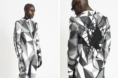 Structural Ingenuity Hand Crafted Bio Geometric Menswear Geometric Geometric Fashion Geometric Inspiration